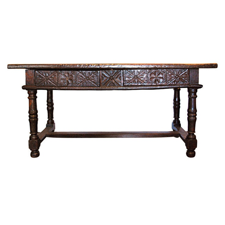 17th / 18th Century Spanish Antique Console Table Haskell Antiques