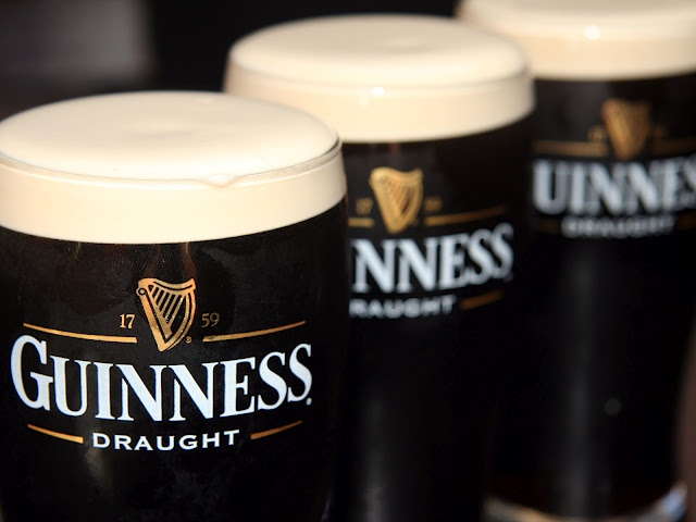 """My goodness, my Guinness"": Stop Drinks, Buckets Lists, Side Salad, Wonder Stuff, Guinness Beer, Pub Lunches, Salad Tomatoes, Irish Beer, Beer Drinks"