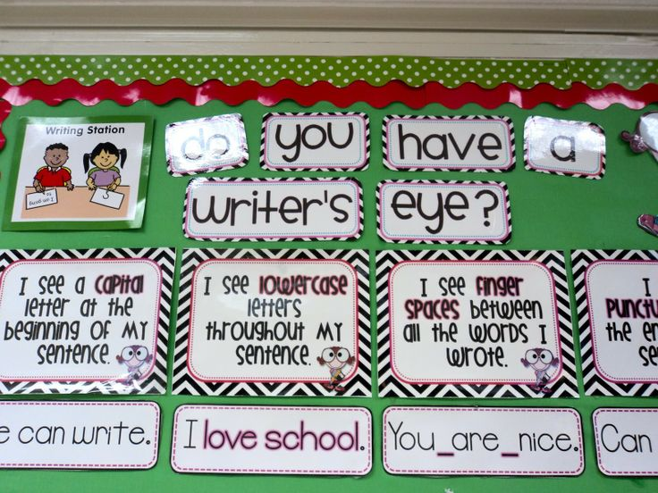 what does a classroom need | Do you have the writer's eye? via Cara Carroll at The First Grade ...
