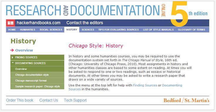 chicago formatting style