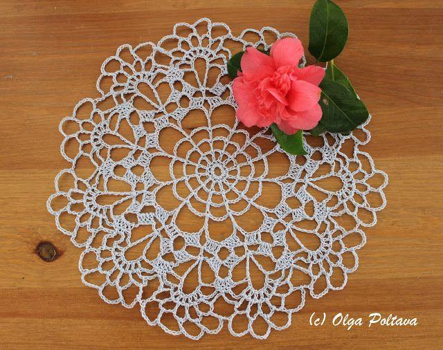 97 best crochet doilies images on Pinterest   Crochet doilies ...