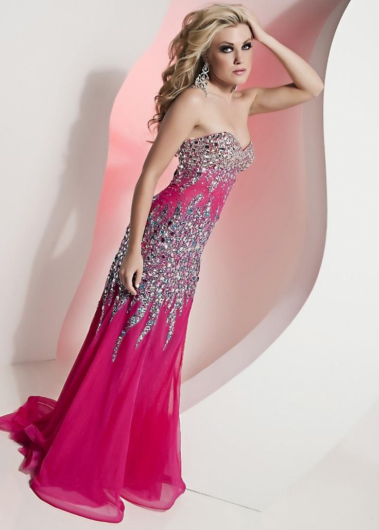 183 best Pink Prom Dresses images on Pinterest | Formal evening ...
