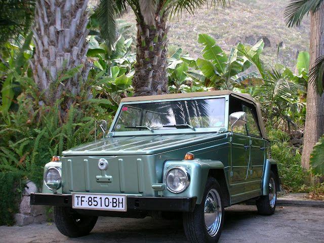 Eduardo Pérez-Ascanio VW. Tenerife: Volkswagen 181 de 1.972