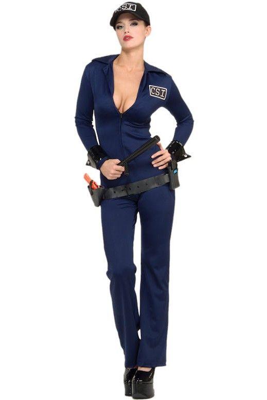 Sexy CSI Officer Costume