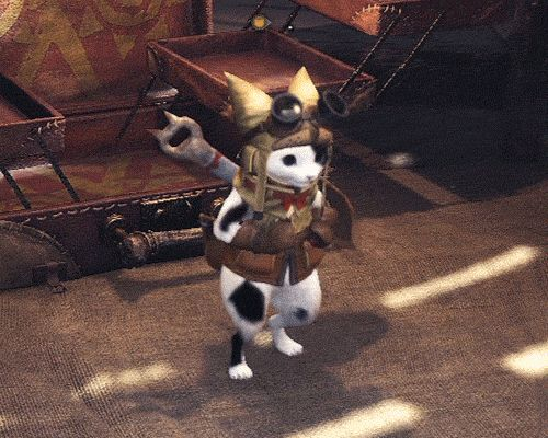 Monster Hunter World : Kung Fu Palico