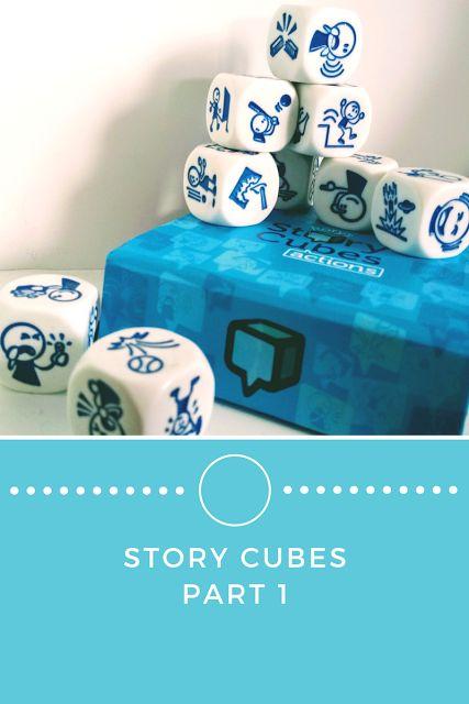 Oliwkowo-Kolorowo: Gra bez ograniczeń? Wykorzystanie Story Cubes.