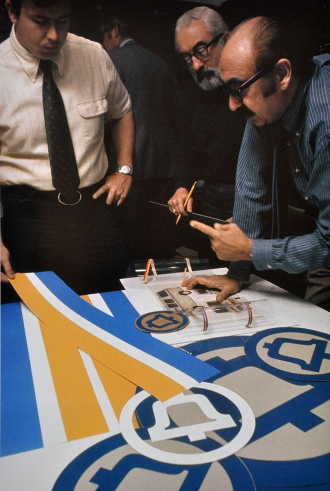 Saul Bass: A Life in Film & Design.  His designs, for film titles and company logos and record albums and posters, defined an era.