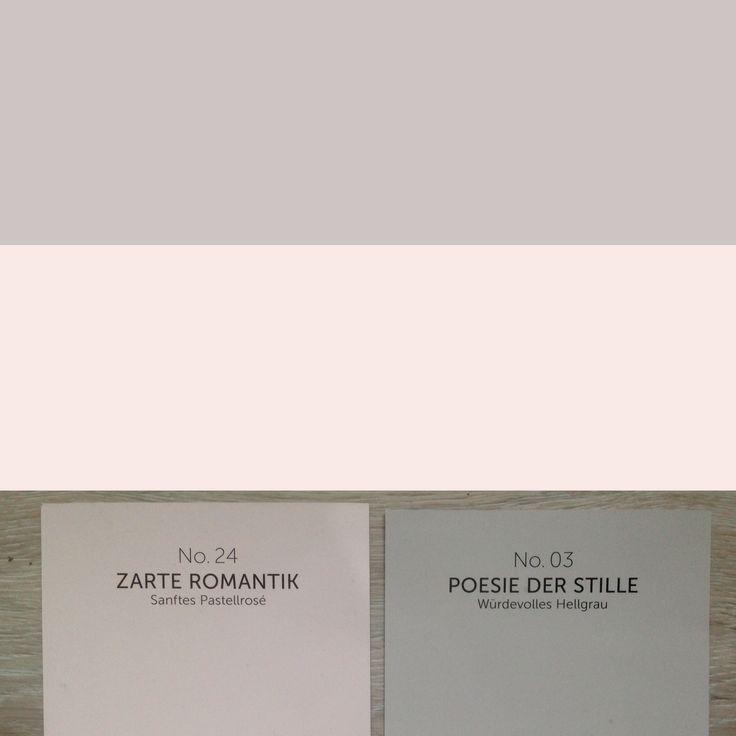 Alpina Feine Farben Poesie der Stille und Zarte Romantik - unsere Babyzimmer-Kombi