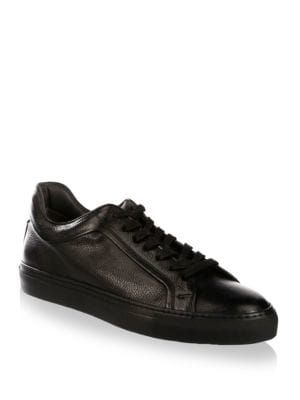 a8c52944b3d8bc TO BOOT NEW YORK Thomas Leather Low-Top Sneakers.  tobootnewyork  shoes