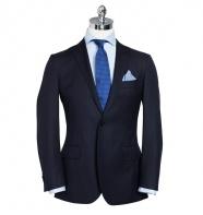 Saunders Weave Navy Suit