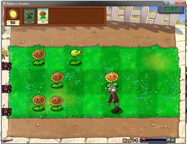 Plantas vs Zombis PC Juego para PC Plantas vs Zombies divertido juegos para niños disponible para bajar gratis plantas vs zombis para computador en español