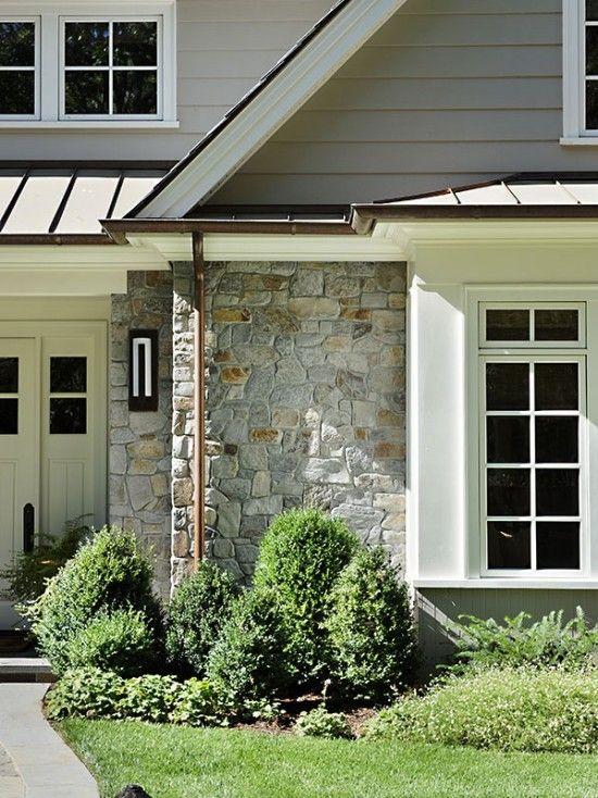 43 best exterior materials images on pinterest patios brick exteriors and exterior design - Metal paints exterior plan ...