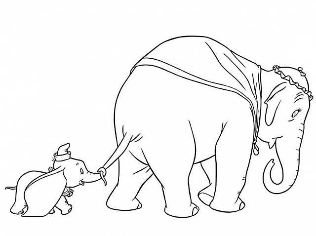 Disegni Da Colorare Di Disney Dumbo Disegni Da Colorare E Stampare