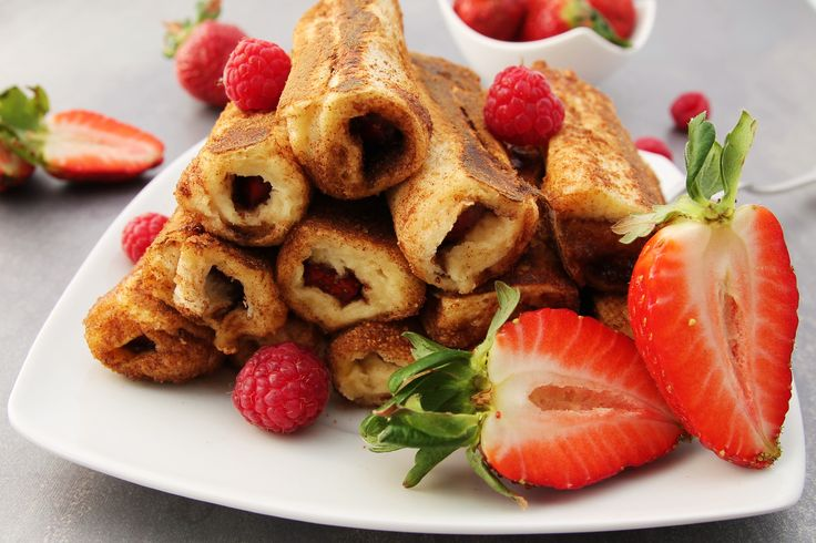 French Toast Roll Ups - C&B with Andrea