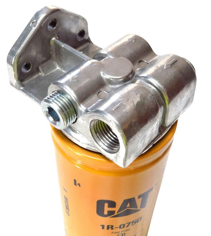 Powerstroke 7.3l 6.0l 6.4l 6.7l Diesel Fuel Filter Remote Mount for CAT 1R-0749 | eBay Motors, Parts & Accessories, Car & Truck Parts | eBay!