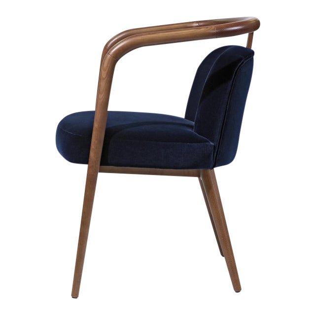 Contemporary Scandinavian Modern Walnut Chair In 2020 Modern Scandinavian Furniture Scandinavian Furniture Design Walnut Chair