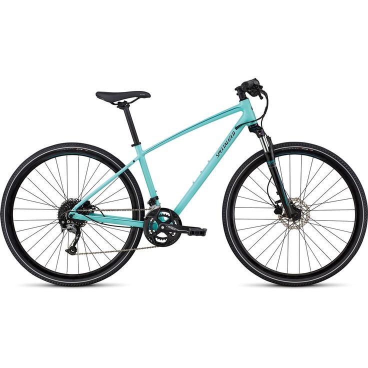 2018 Specialized Ariel Sport Hybrid Fitness Bike in Blue