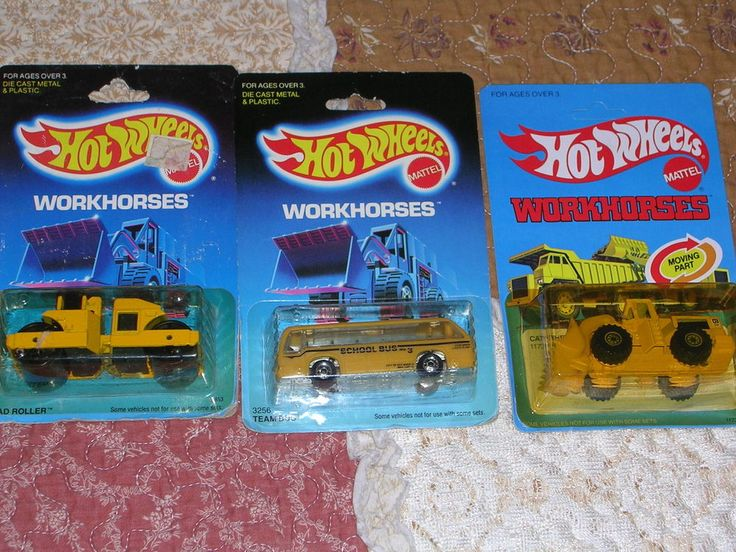 hot wheels lot of 3 80's-90's 3 workhorse's1991 good humor ice cream           from $19.99