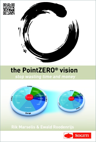 """The world around us is challenging. Business solutions must bring real business value and lead to demonstrable business success.    PointZERO® brings an overarching view that is new in the world of business technology. This umbrella view prevents fragmented improvements that would lead to sub optimization of the overall application lifecycle. PointZERO® refers to doing things right from the very first moment, the point zero. Avoid wasting effort on rework; """"getting it right from the start""""."""