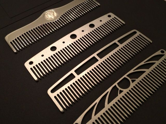 Metal Comb Works: Machine Age inspired metal pocket combs. by Jeff D. Grant — Kickstarter