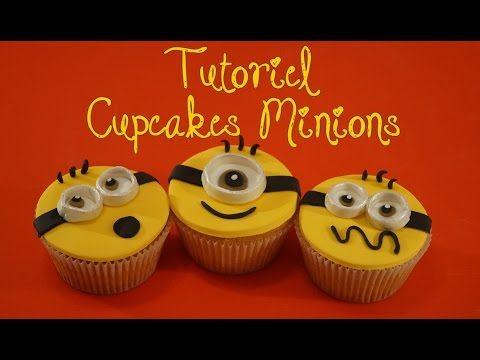Cupcakes Minion pâte à sucre / Despicable Me | Cake design