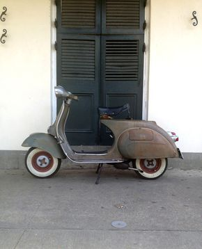 '59 Vespa 150 in New Orleans. - All things Lambretta & Vespa