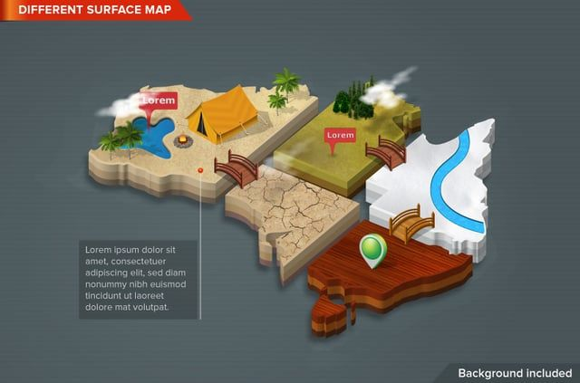 Generate your very own 3d world, with just a click! Design your own Maps…