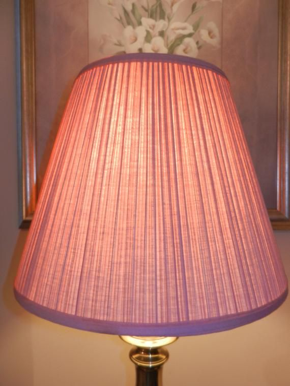 Pink Pleated Fabric Lamp Shade Spider Attachment Shade Only Lamp Shade Lamp Pleated Fabric What is a spider fitter lamp shade