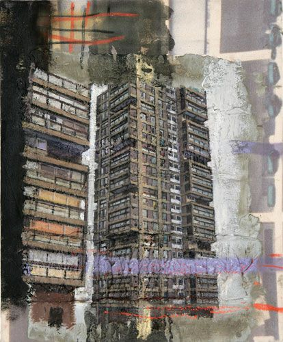 David Hepher Study for the Wandsworth Road Estate III