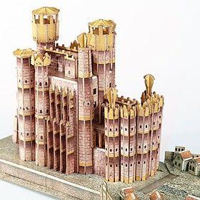 Puzzle Juego de Tronos 3D Desembarco del Rey