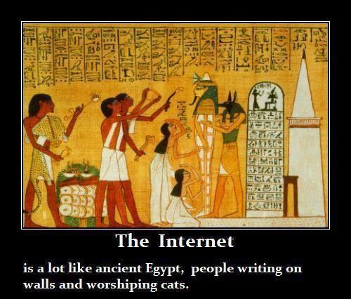 The Internet...