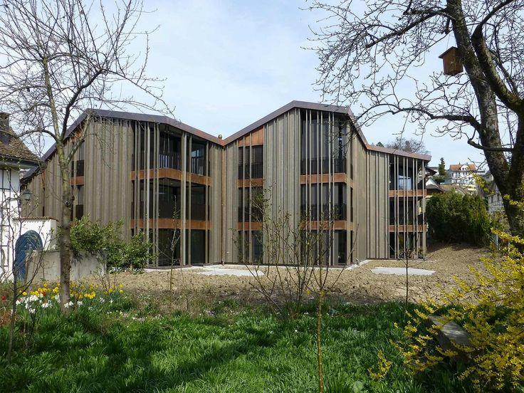 best architects architektur award // Neff Neumann Architekten / Neff Neumann Architekten / Haus Silberahorn / Wohnungsbau/Mehrfamilienhäuser