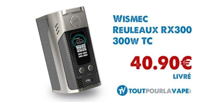 Dimensions : 42 mmx 58 mmx 81.7 mm Grand écran OLED de 0.96 pouces (soit 2.44 cm de diagonale) Plot 510sur ressort Box quadruple accus 18650 (non inclus), accus >25A recommandés Modes : VW /TC-Ni / TC-Ti / TC-SS et mode TCR Plage de puissance : de 1à 300W   4 modèles différents  Plage de résistance en mode contrôle de température : de 0.05à 1.5 ohm Plage de résistance en mode puissance : de 0.1à 3.5 ohm Plage de température : de 100à 315°C / de 200 à 600°F Déch...