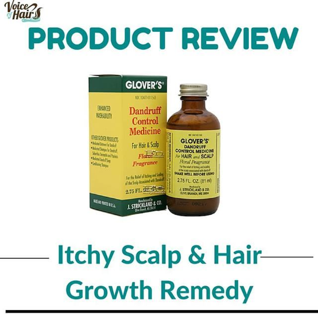 Itchy Scalp? Looking for products to grow your hair and
