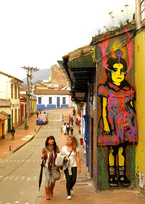La Candelaria, Bogotá D.C., Colombia. Mocahontas Garmy Garcés