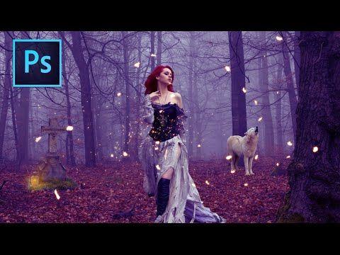 ▶ Magic Forest: Photoshop Manipulation Tutorial - YouTube