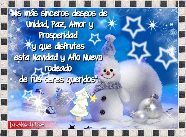Frases Bonitas Para Navidad Y Fin De Ano Navidad Pinterest