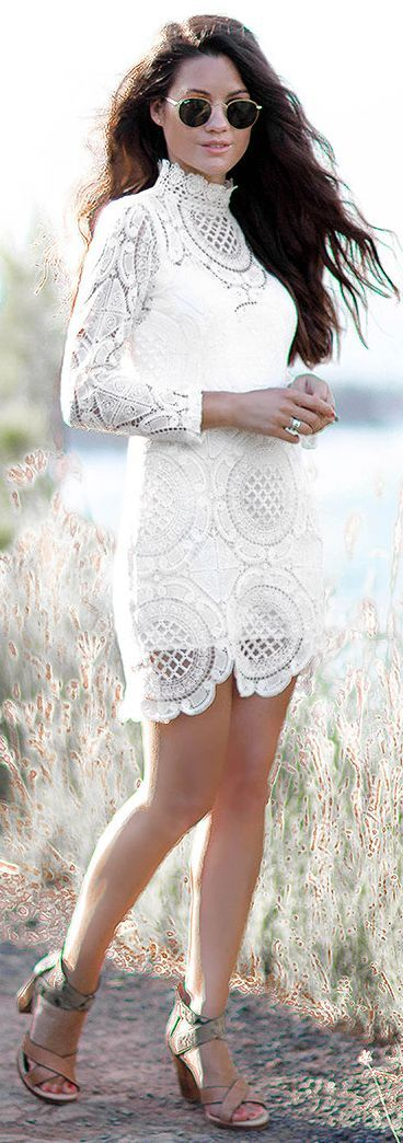 Sarah Style Seattle Lace L W D Fall Street Style Inspo #Fashionistas