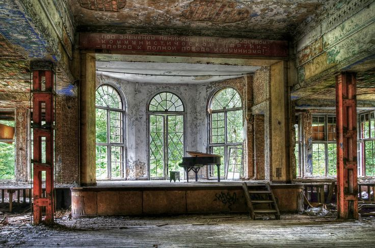 The former TB hospital, Heilstätte Grabowsee. The Most Hauntingly Beautiful Abandoned Places In Germany.