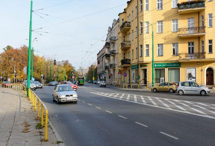 Skrzyżowanie ulic Grunwaldzkiej / Szylinga / Matejki, 1950 rok | Poznań, Moje Miasto
