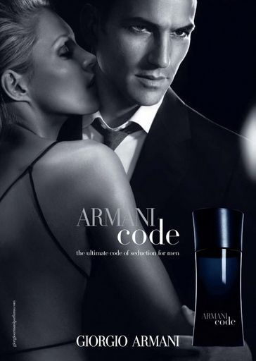 I really like the dark minimal music in this commercial from Giorgio Armani, Armani code