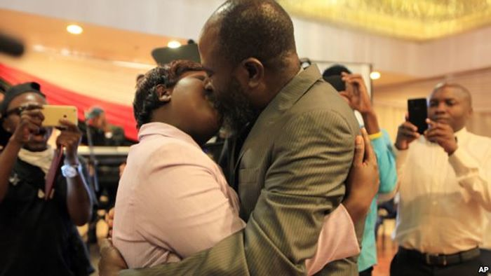 Wow! Meet The Couple Who Won The 'Longest Kiss In Africa' On Valentine's Day (Video)