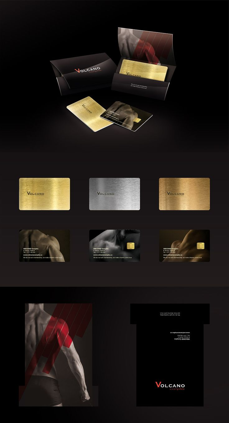 Design of VIP card for Volcano Club