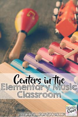 Facilities within the Elementary Music Classroom