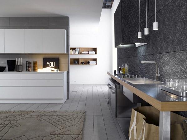 elements la linea di cucine moderne realizzata da bravo