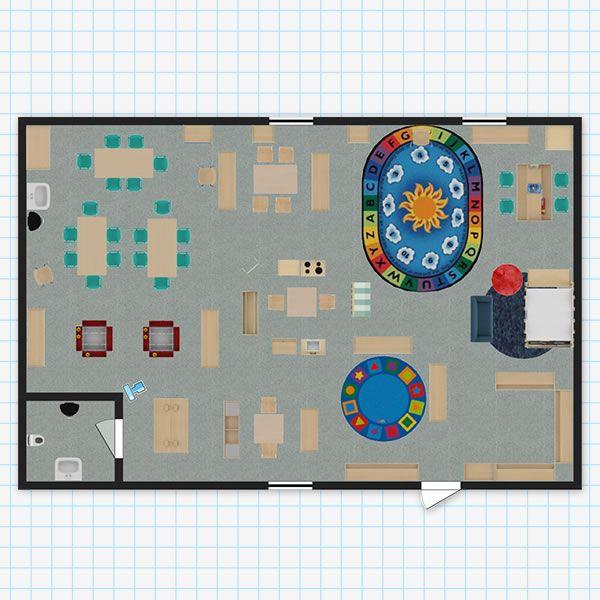 Preschool Classroom Design: Pre-K Classroom Layout
