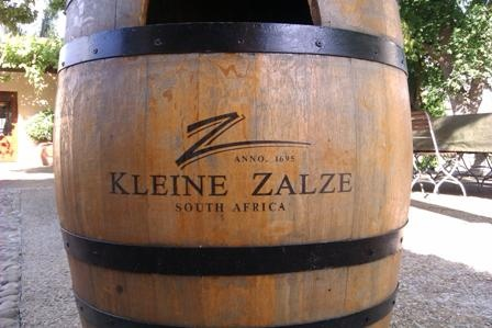 My personal favourite from Kleine Zalze is their Chenin Blanc - one of the best in South Africa. You will find the Kleine Zalze Vineyard in Stellenbosch, Cape Town. By The way, their restaurant is fantastic too!
