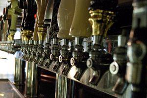 Bier Baron tavern near Dupont Circle 50 +  constantly rotating taps!