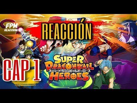 SUPER DRAGON BALL HEROES CAP / REACCION/ GOKU BLUE VS GOKU SS4/   Dragones. Dragon ball