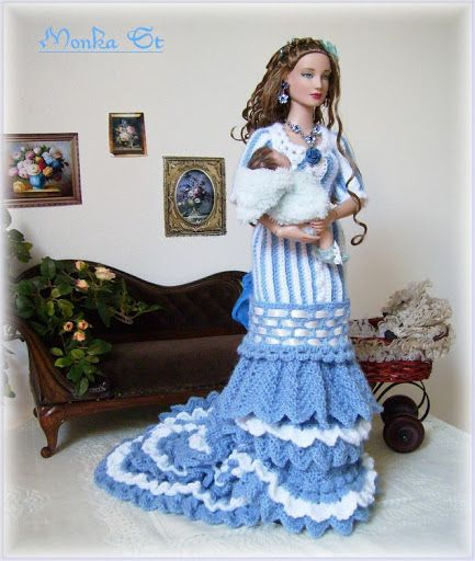 Free Knitting Patterns For Tonner Dolls : 1000+ images about Crochet Doll Clothes on Pinterest